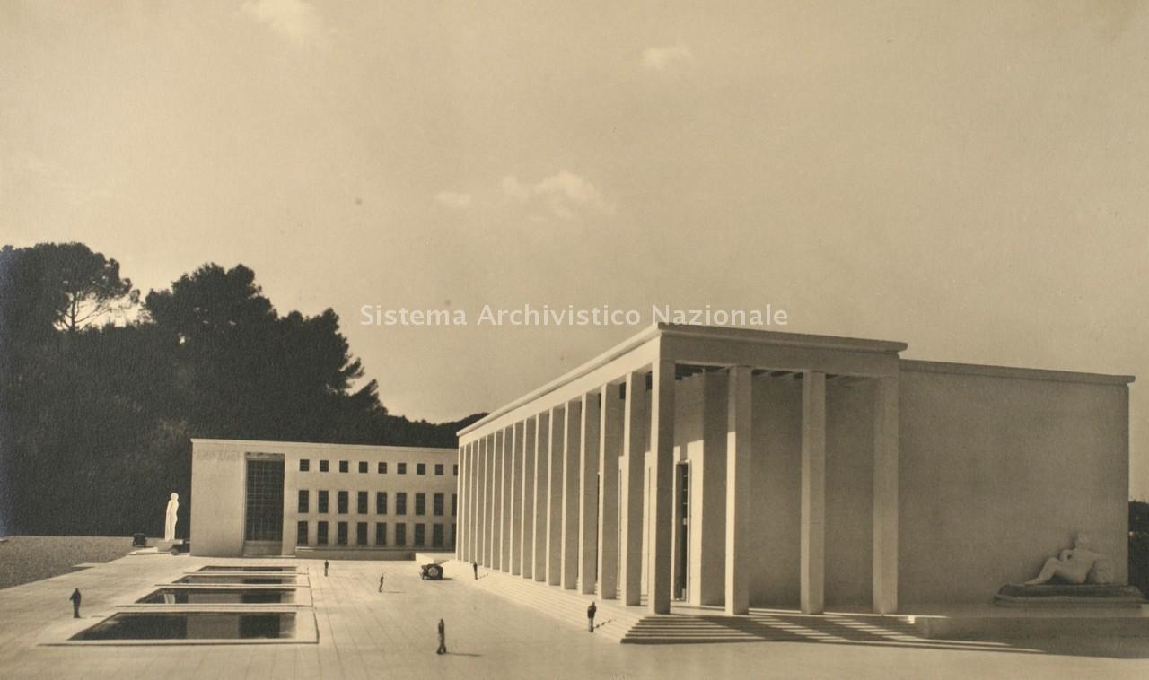 Scheda progetto architetti for Uffici zona eur