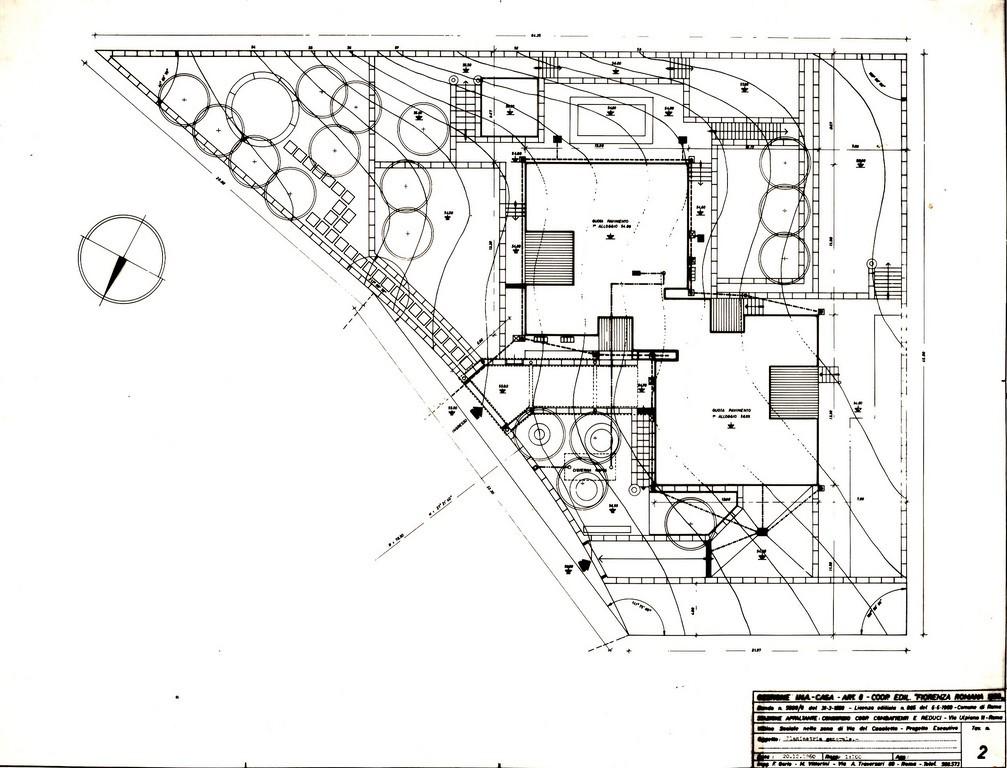 Scheda progetto architetti for Planimetrie per costruire una casa